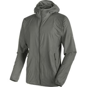 Mammut M's Crag WB Hooded Jacket titanium melange